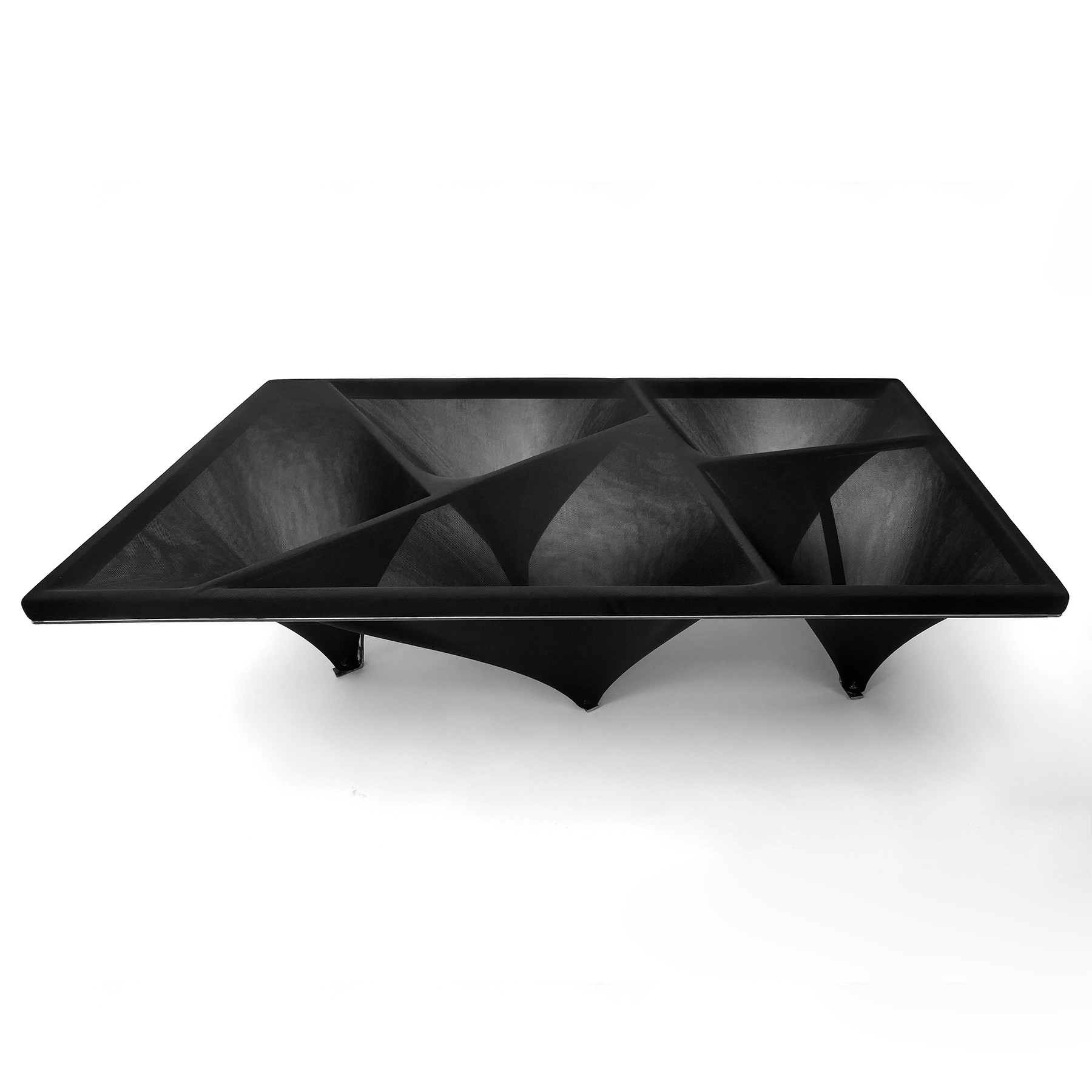 Coffeetable with fabric